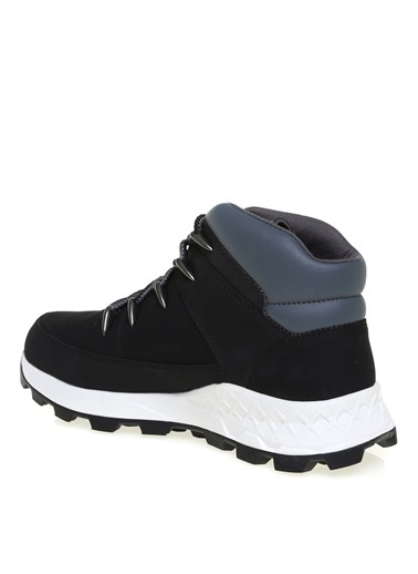 Timberland Timberland Erkek Bağcıklı Siyah Sneaker Siyah